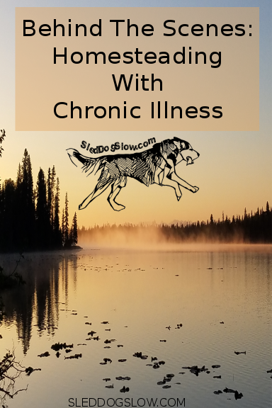 Behind The Scenes: Homesteading With Chronic Illness
